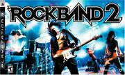 New Ps3 Rock Band 2 Special Edition Bundle Kit Guitar Drums Game And Mic