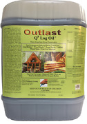 Outlast Q8 Log Oil 1 And 5 Gallon 6 Available Colors