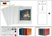 5 Look 1-7389-w Coin Sheets Premium 0 1/32x6 7/8x8 5/32in + White Zwl For Coins