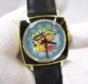 The Marx Brothers Manual Windultra Rare Menand039s Character Watch1092 L@@k