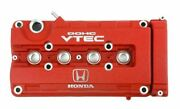 Honda Genuine B18c B16b Integra Type R Dc2 Red Valve Cover 12310-p73-j00 Oem