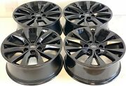 20 20 Inch Oem Factory Ford F-150 King Ranch Gloss Black Wheels Rims Set Of 4