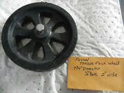 Fulton Tongue Jack Wheel Diameter Is 5 3/4 Inches 3/8 Bolt Size And 2 Wide