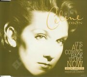 Celine Dion It's All Coming Back To Me Now Special Dance Cd Single Uk 1996 Epic