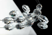 5200 6mm X 4mm Crystal Faceted Oval Beads 72 Pcs, 360 Pcs