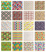 Ambesonne Colorful Theme Fabric By The Yard Decorative Upholstery Home Accents
