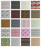 Ambesonne Ethnic Fabric By The Yard Decorative Upholstery Home Accents