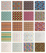 Ambesonne Colorful Fabric By The Yard Decorative Upholstery Home Accents