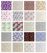 Ambesonne Flower Concept Fabric By The Yard Decorative Upholstery Home Accents
