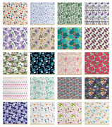 Ambesonne Botanical Fabric By The Yard Decorative Upholstery Home Accents