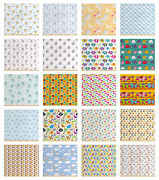Ambesonne Nursery Fabric By The Yard Decorative Upholstery Home Accents
