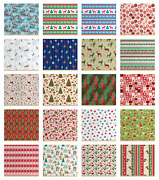 Ambesonne Christmas Fabric By The Yard Decorative Upholstery Home Accents