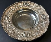 Antique Samuel Kirk And Son Sterling Silver Bowl
