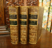 The Holy Bible 3 Vol Set 1856, Rev. George D'oyly And Richard Mant, Fold Out Maps