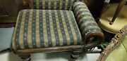 Antique Chaise Lounge Seat 100 Years Old
