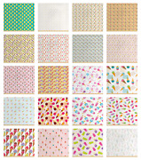 Ambesonne Ice Cream Fabric By The Yard Decorative Upholstery Home Accents