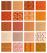 Ambesonne Orange Fabric By The Yard Decorative Upholstery Home Accents
