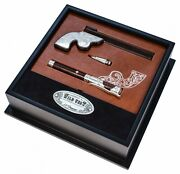 S.t. Dupont Wild West Kit - Fountain Pen And Roller Limited Edition