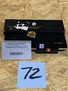 Vintage 90s Seiko Limited Edition Mickey Mouse Medallion Watch W/ Box And Coa 7n00
