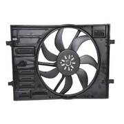 Topaz Radiator Cooling Fan Assembly For Volkswagen Golf Gti Audi A3 5q0121203cl