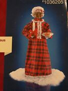 Holiday Living 28'' Afican American Animated Musical Mrs. Claus