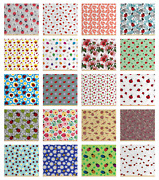 Ambesonne Ladybug Fabric By The Yard Decorative Upholstery Home Accents