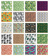 Ambesonne Jungle Fabric By The Yard Decorative Upholstery Home Accents