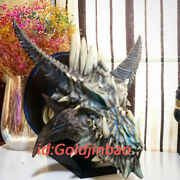 A.l. Model Frost Wyrm Model Resin Figure Statue Painted Display Wall Hanging Led