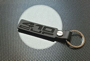 Lotus Exige 410 Cup Leather Keyring Keychain S3 Black