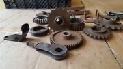 Bsa C15 Triumph Cub And A Variety Of Other British Motorcycle Parts Job Lot