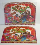 Hallmark 1978 The Muppets Show Placemats Sealed + Extra