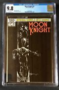 Moon Knight 25 Cgc 9.8 White Pages 1st Black Spectre