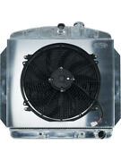 Cold Case Radiators Radiator And Fan 26.5 In W X 25 In H X 3 In D Ceandhellip Gmt554ak