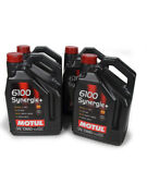 Motul Usa Motor Oil 6100 Synergie 10w40 Synthetic 5 L Set Of 4 108647