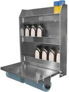 Pit-pal Products Trailer Cabinet 25 X 30 X 5-1/2 In Aluminum Natural 320