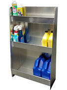 Pit-pal Products Trailer Cabinet Combo 22 X 36 X 8-1/2 In Aluminum Natural 325