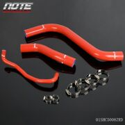 Fit For Lifan Solano 620 Red Universal Silicone Coolant Radiator Hose Clamps Kit