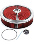 Edelbrock Air Cleaner Assembly Pro-flo 14 In Round 3 In Tall 5-1/8 In Candhellip 43660