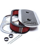 Edelbrock Air Cleaner Assembly Elite Ii 13-1/2 X 7 In Oval 3-1/2 In Tallandhellip 4272