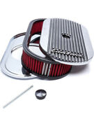Edelbrock Air Cleaner Assembly Elite Ii 13-1/2 X 7 In Oval 3-1/2 In Tallandhellip 4273