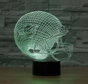 Miami Dolphins Collectible Decor Night Light Touch Lamp Gift- Menkidswomen