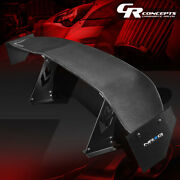 Nrg Innovations Carb-a691 69 Gt Style Racing Carbon Back / Tail Fiber Spoiler