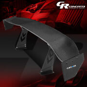 Nrg Innovations Carb-a692 69 Gt Style Racing Carbon Back / Tail Fiber Spoiler