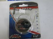 Boater Sports 53255 Deck Fill Replacement Cap 1 1/2
