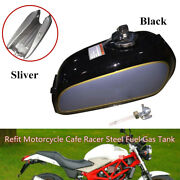 Refit Motorcycle Bike Cafe Racer Fuel Gas Tankandcap Switch Fit For Auto Benly50s