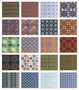 Ambesonne Printed Fabric By The Yard Decorative Upholstery Home Accents