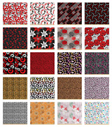Tight Woven Fabric By The Yard Decorative Upholstery Home Accents By Ambesonne