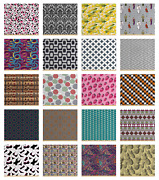 Ambesonne Tight Woven Fabric By The Yard Upholstery Home Accents Decor