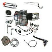 Geniune Lifan 140cc Engine Motor Exhaust Kit Manual For Pit Bike Crf50 Ct70 Ct90