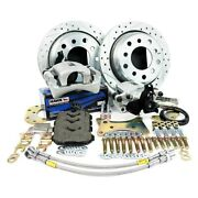 Master Power Brakes Legend Series Drilled And Slotted Brake Conversion Kit